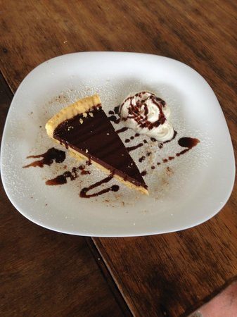 Almaplena Eco Resort & Beach Club: Pastel de chocolate...delicioso...