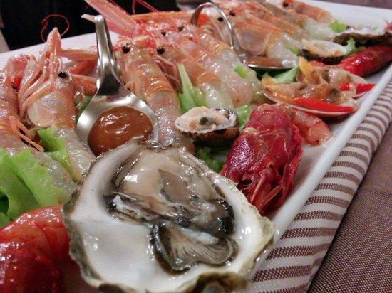 Albergo Trattoria Alle Castrette Restaurant: Aperiticando con un pò di crudo!