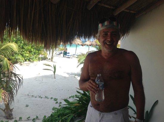 Almaplena Eco Resort & Beach Club: Llegada....