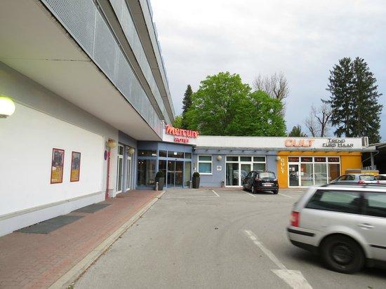 The Star Inn Hotel Graz: Mercure Graz Messe - entrada