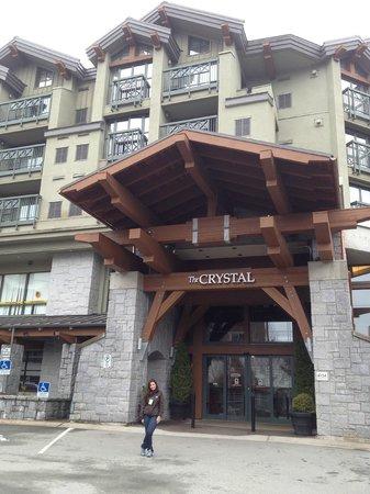 Crystal Lodge Hotel : Vista do lado de fora do Lobby