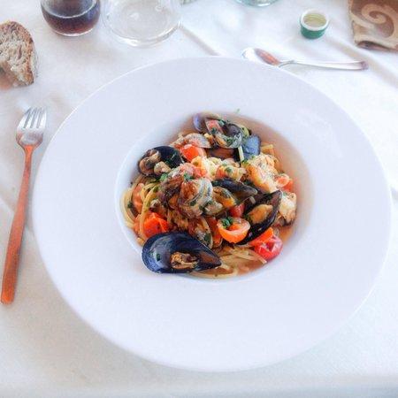 Ristorante Chiringuito: Pasta con i frutti di mare!