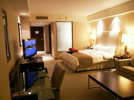 InterContinental Mendoza: la habitacion