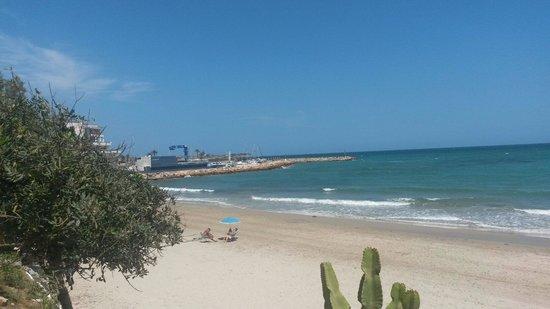 Playa de La Mata: Sunny morning with refreshing moments