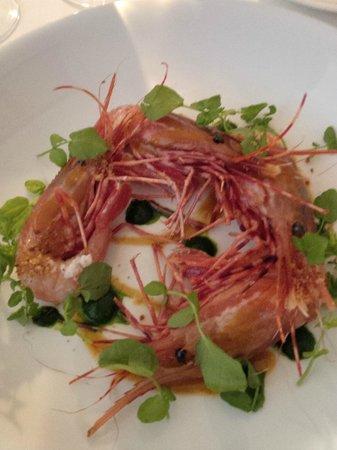 Bishop's: spot prawns
