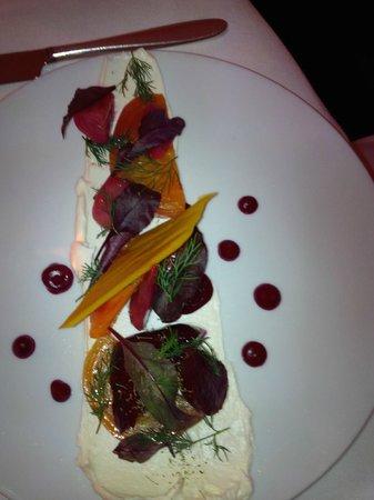 Bishop's: Beet salad