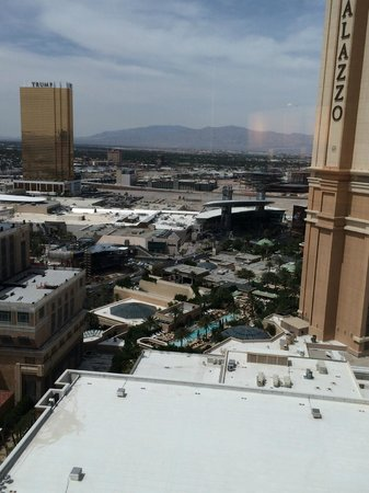 The Venetian Las Vegas : View from guest room