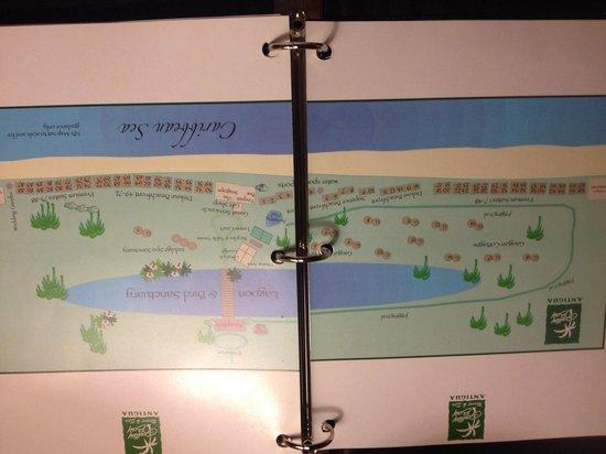 Galley Bay Resort : Map of the Resort (May 2014)