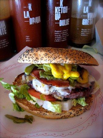 Bacoa Kiosko: El Bacoa burger :)