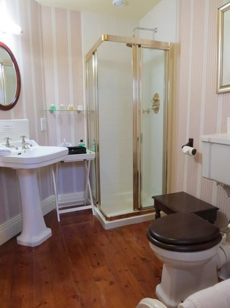 Carrig Country House & Restaurant: superior lake view bathroom
