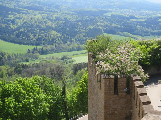 Burg Hohenzollern: View from the Castle
