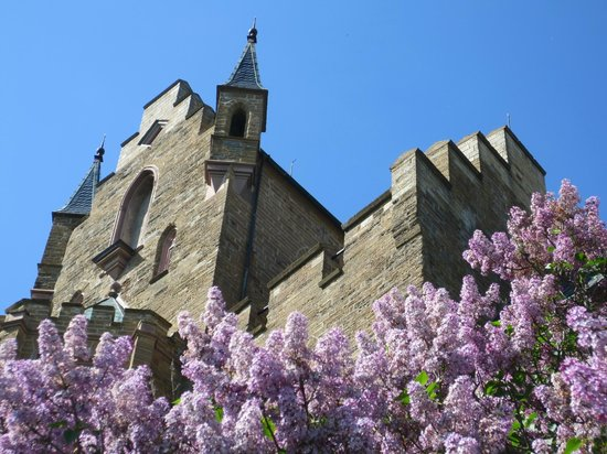 Burg Hohenzollern: Castle with Lilacs