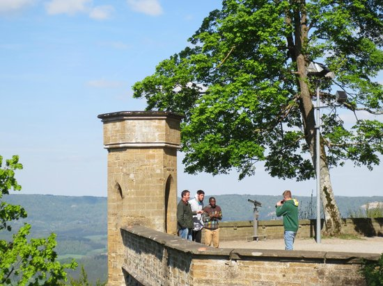Burg Hohenzollern: Castle View