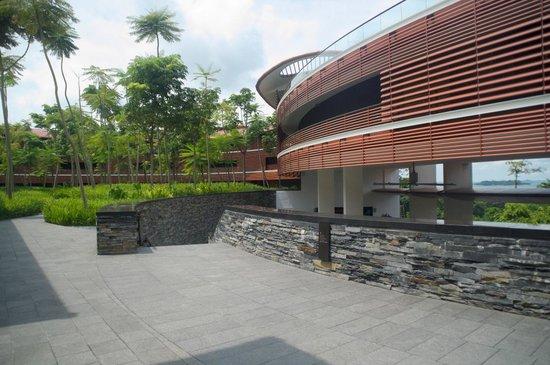 Capella Singapore: 近代的なデザインも