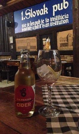 Slovak Pub : Czech Cider