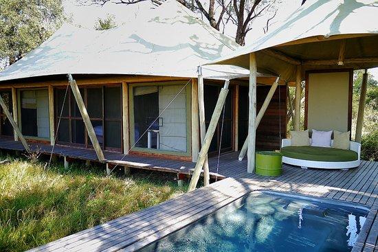 andBeyond Xaranna Okavango Delta Camp: Spacious Xaranna Suite