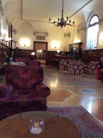 Hotel Abbazia : Lounge/Bar Area