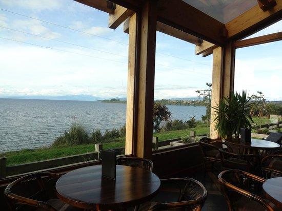 Hotel Cumbres Puerto Varas: Vista do Lago Llanquihue