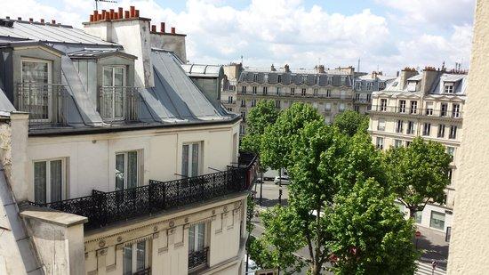 Grand Hotel de l'Europe : vista dalla nostra camera