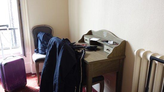Grand Hotel de l'Europe : angolo scrivania