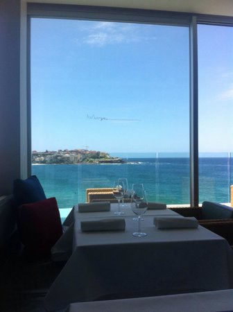 Icebergs Dining Room & Bar: The view over Bondi Beach is spectacular ...