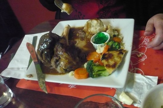 Red Viking Restaurant: Lamb Plate