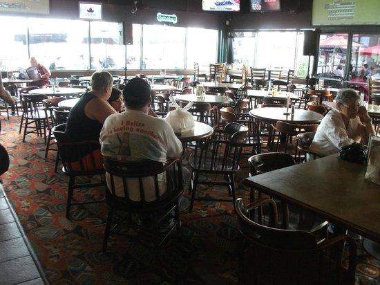 Paddlewheeler Pub: View of pub interior