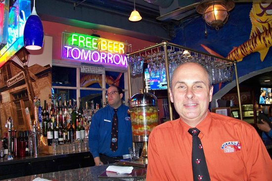 Oceana Grill - Neel - the manager on duty. - Picture of Oceana ...