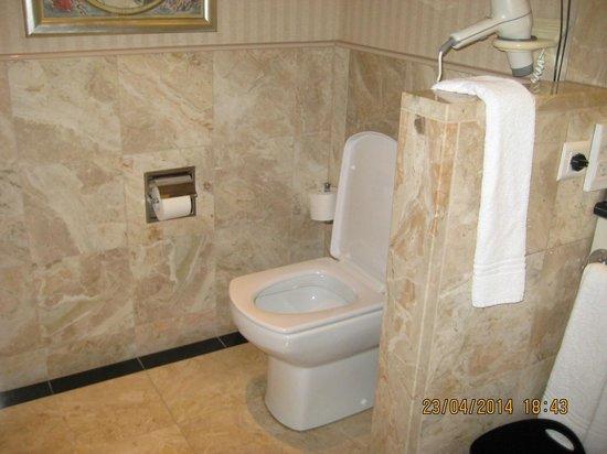 Sheraton Warsaw Hotel: Baño