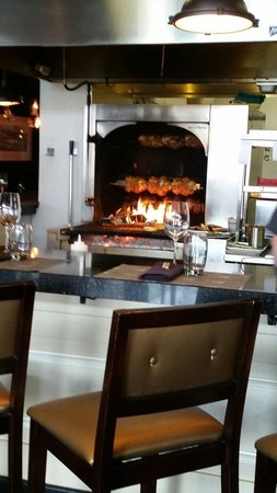NOtaBLE - The Restaurant: Wood burning grill / rotisserie.