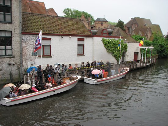 In Bruges Events - Day Tours: boat cruise