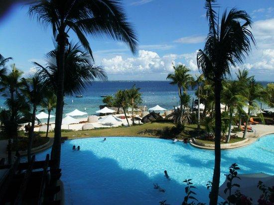 Shangri-La's Mactan Resort & Spa: View from 1st Floor.