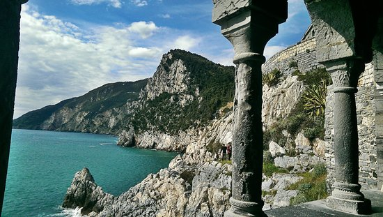 Portovenere : veduta dalla chiesa di san pietro