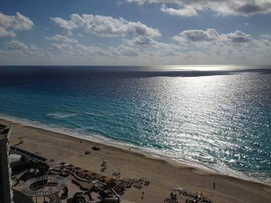 Secrets The Vine Cancun: The view from the 21st floor