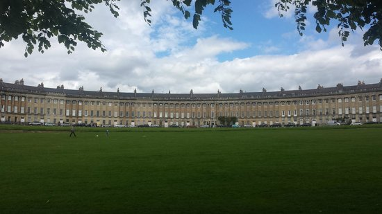 The English Bus: Houses at Bath Pic 2