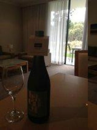 Mercure Kooindah Waters Central Coast: Complimentary Wine