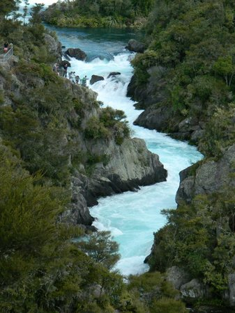 Aratiatia Rapids : Filling-up