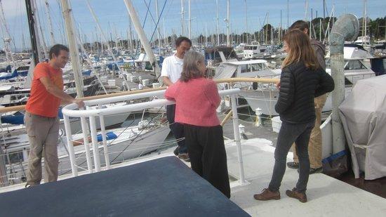 Barkissimo Floating Boat & Breakfast: life on-board