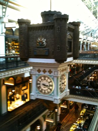 Queen Victoria Building (QVB) : The other clock