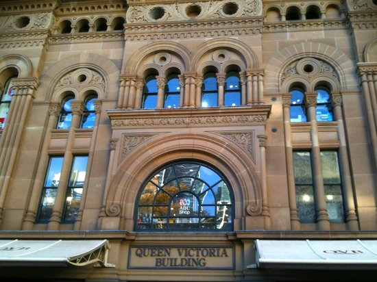 Queen Victoria Building (QVB) : The entrance