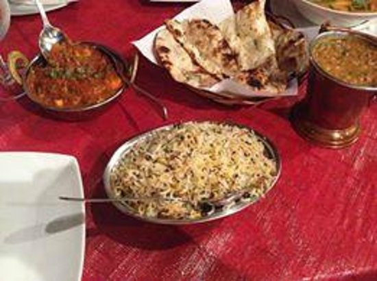 Tantra: kadhi paneer and dal tarka with jeera rice and garlic naan