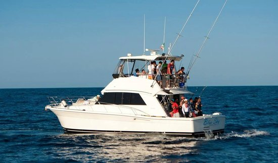 Blue Sky Cabo Fishing and Tours: Beautiful boat