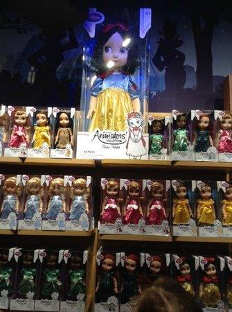 Disney Store: princesitas