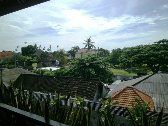 Ari Putri Hotel : View from balcony