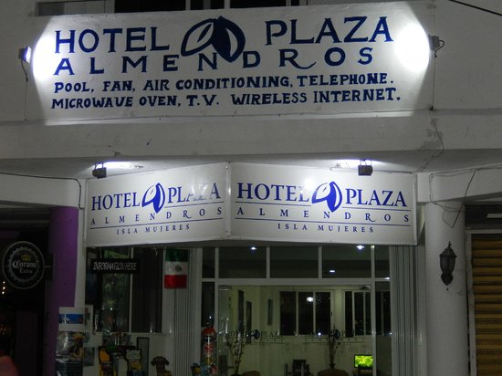Hotel Plaza Almendros : Front of the hotel