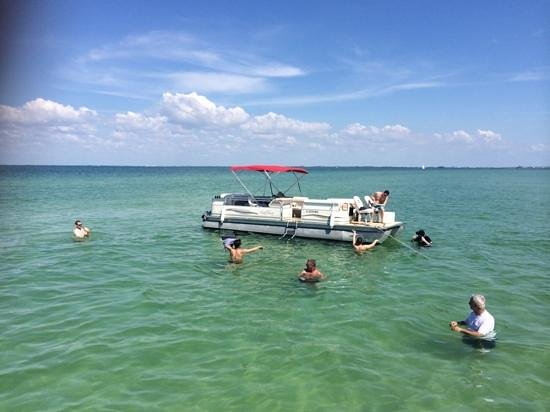 H2O Watersportz: at the sand bar