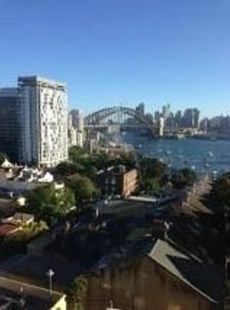 North Sydney Harbourview Hotel: Spectacular View