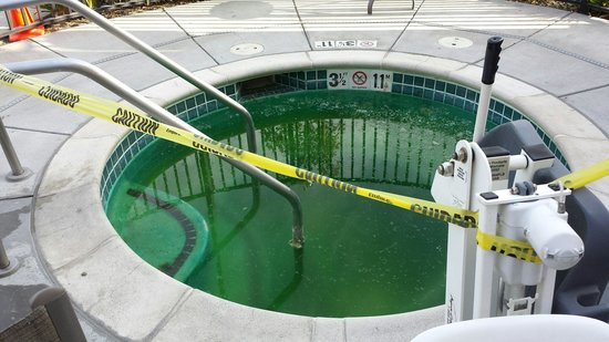 TownePlace Suites Sacramento Cal Expo: Hot tub is out of order and looks like it's been that way for awhile