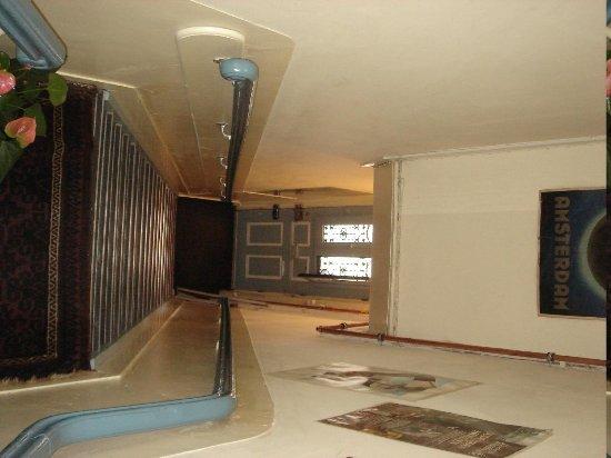 Hotel Museumzicht: Лестница