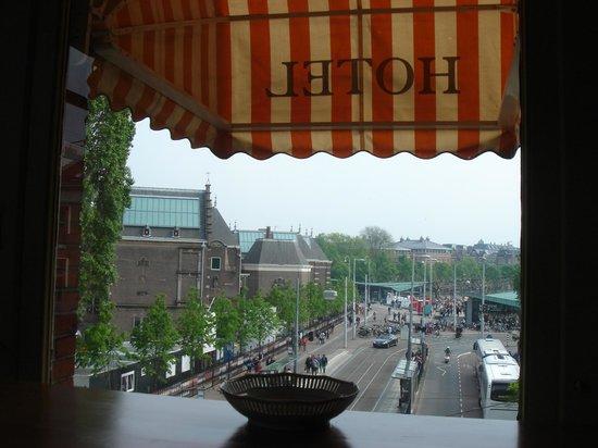 Hotel Museumzicht: Вид из окна гостиной